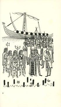 Beowulf (13) - illustration par Severin - 1954