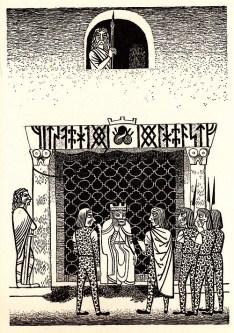 Beowulf (2) - illustration par Severin - 1954