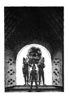 Beowulf (7) - illustration par Severin - 1954
