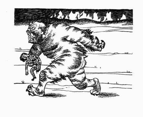 Beowulf (8) - illustration par Severin - 1954