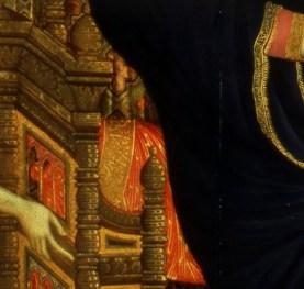 Fauteuil et manche de la Vierge