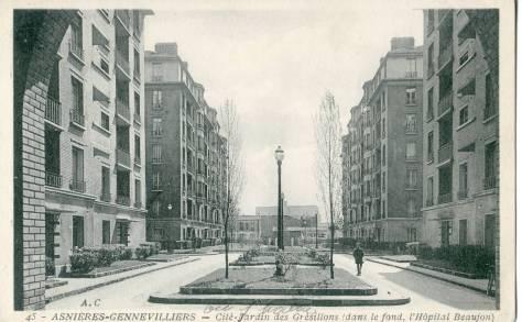 Asnières - cité-jardin des Grésillons