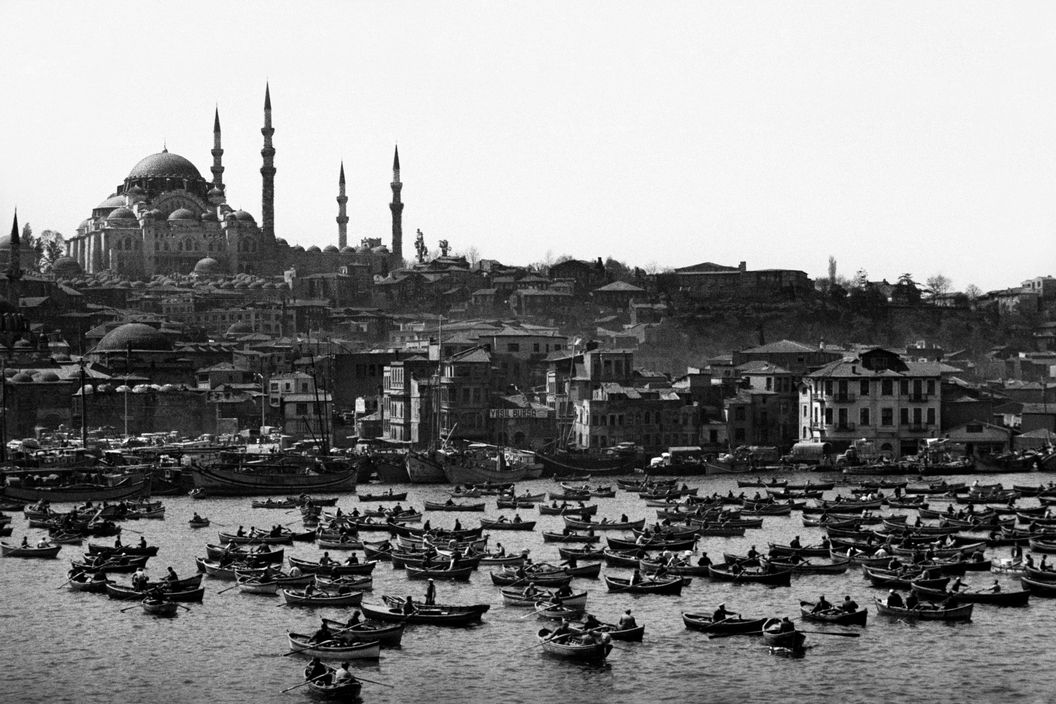 Mosquée Süleymaniye Camii - Corne d'Or - Istanbul - 1962