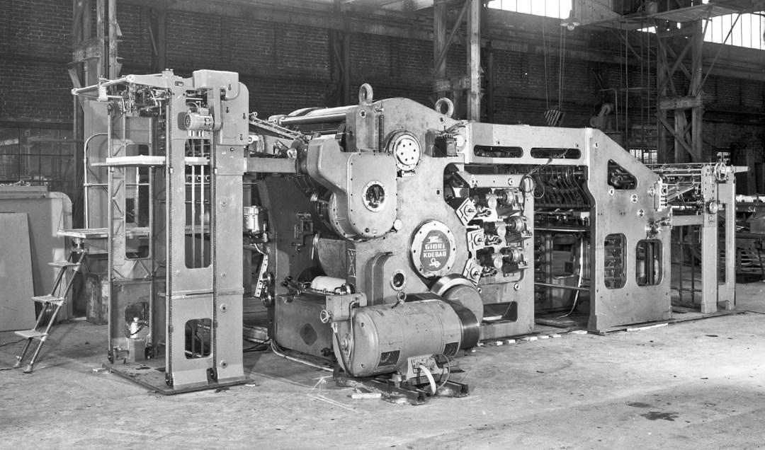 Presse à billets de banque - 1952 - Giori-Intagliocolor
