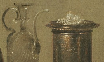 Willem Claeszoon Heda - Nature morte à la tartelette (Détail sucre) - 1635 - 106x111cm - National Gallery of Art - Washington