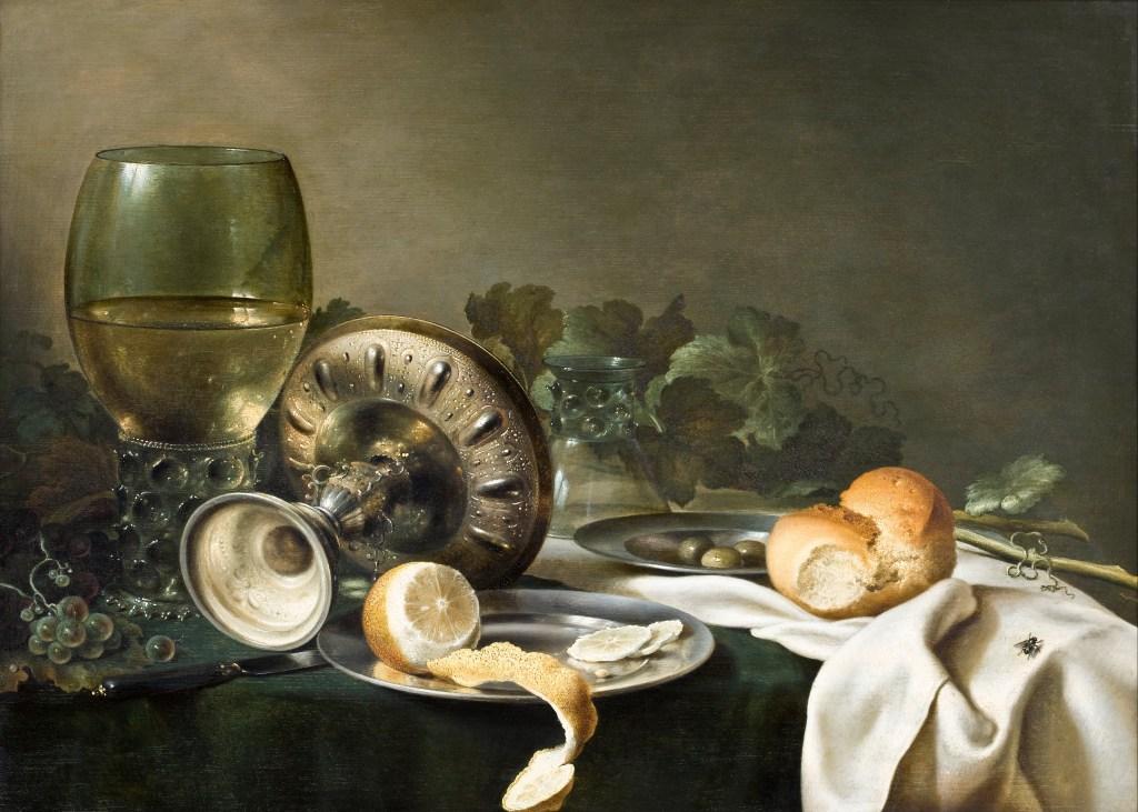 Willem Claeszoon Heda - Nature morte à la vigne - 52x68cm - Musée Hallwyl - Stockholm