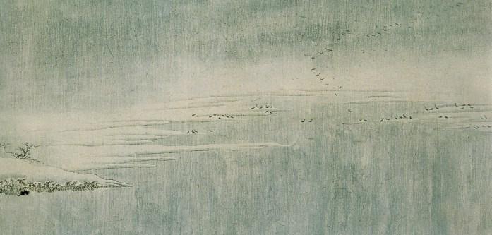 Wang Wei - Neige sur la Yangtzé - 5