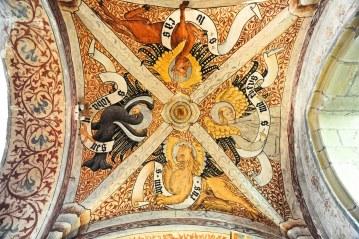 Tetramorphe, Abbatiale d'Ottmarsheim