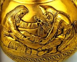 Le guérisseur - Trésor de Kul-Oba, vase en électrum - Musée de l'Ermitage - Saint-Petersbourg