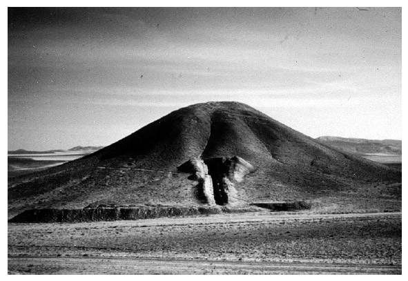 Tumulus de Gordion lors de son excavation en 1957