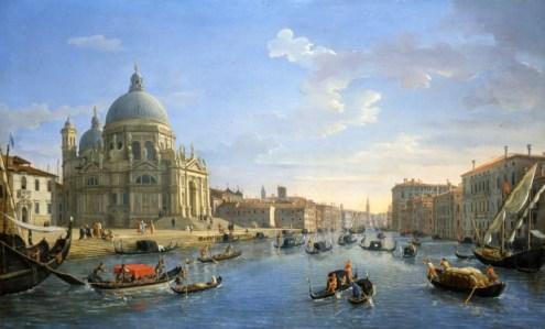 Gaspar Vanvitelli - Canal et Santa Maria della Salute
