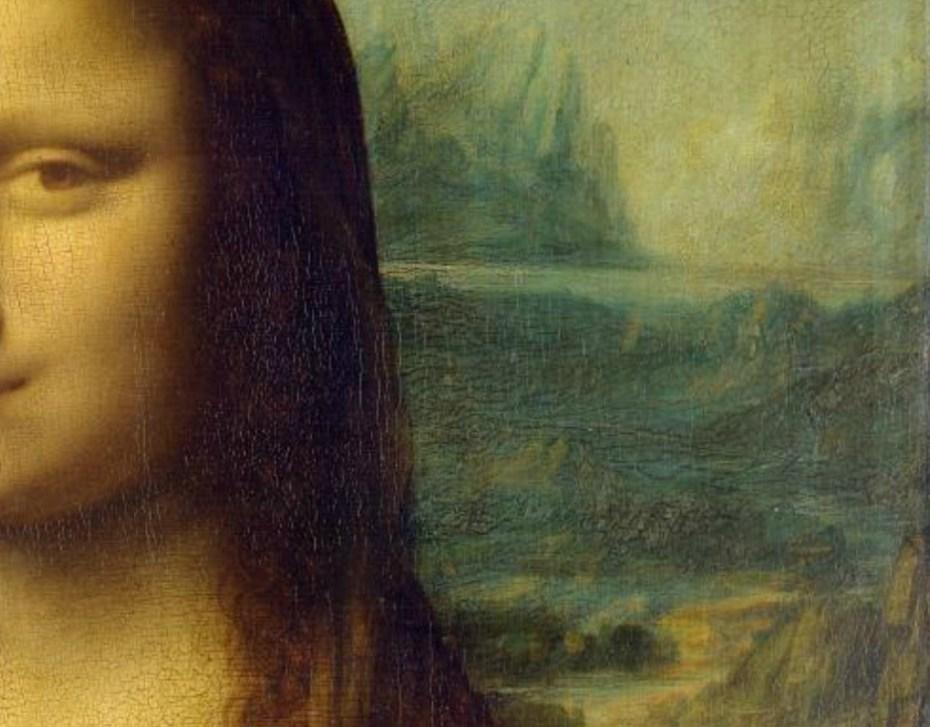 Leonardo da Vinci - La Joconde (1503-1506) - Paysage droit - Le Louvre - Paris