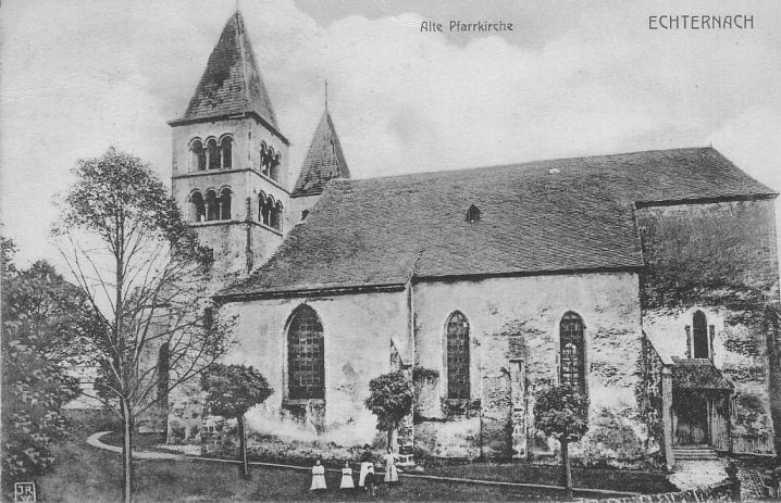 Echternach - Église Saints Pierre et Paul