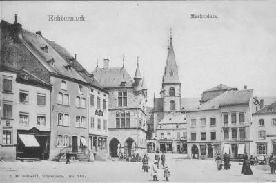Echternach - Marktplatz