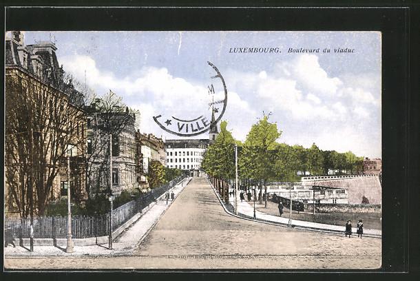 Luxembourg - Boulevard du viaduc