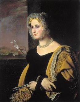 Orest Adamovich Kiprensky - Portrait de Catherine Sergueïevna Avdouline, née Yakovlev - 1822