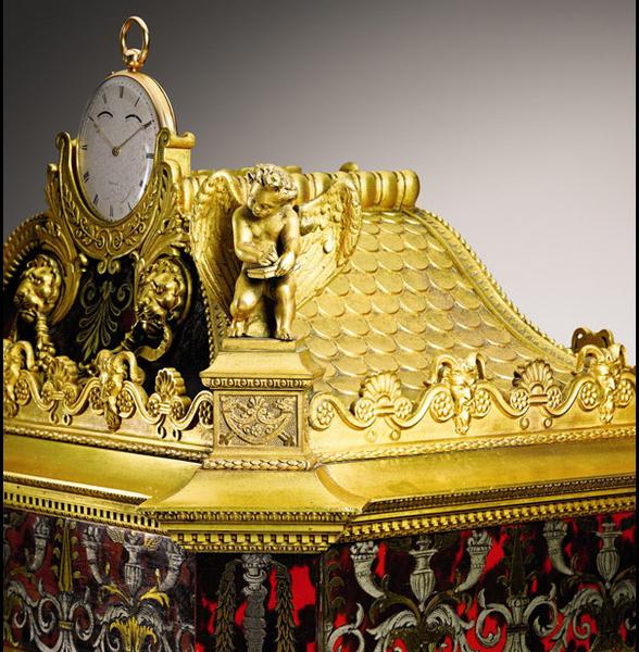 Pendule Sympathique Breguet du Duc d'Orléans (détail) - Abraham-Louis Bréguet