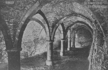 Château de Vianden (Luxembourg) - La grande cave