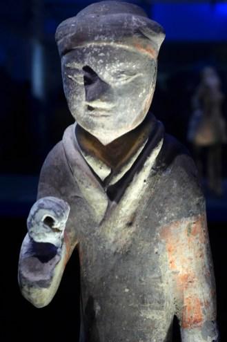 Splendeurs des Han - Musée Guimet - 06 - Statuette en bronze
