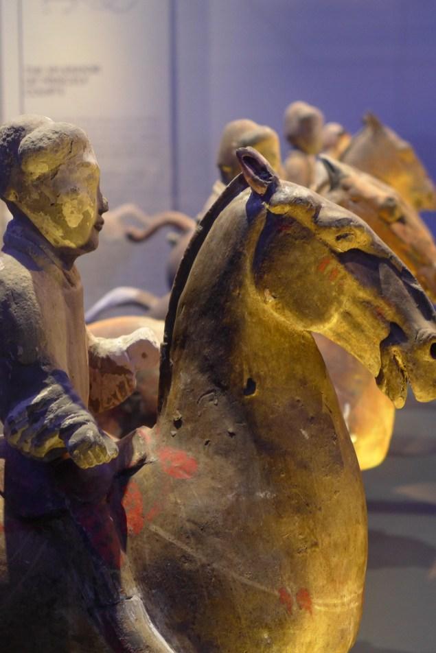 Splendeurs des Han - Musée Guimet - 08 - Chevaliers en terre