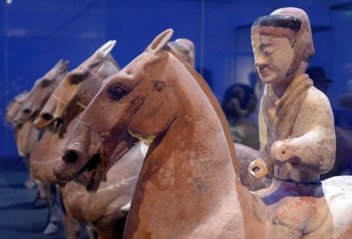 Splendeurs des Han - Musée Guimet - 09 - Chevaliers en terre