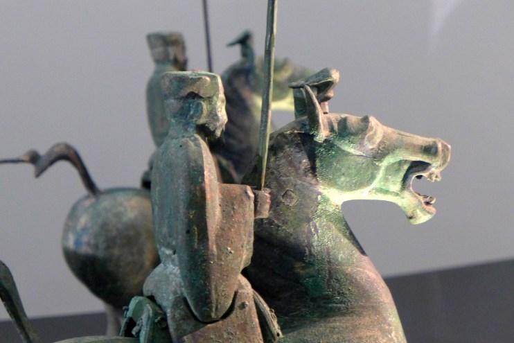 Splendeurs des Han - Musée Guimet - 19 - Cortège funéraire en bronze