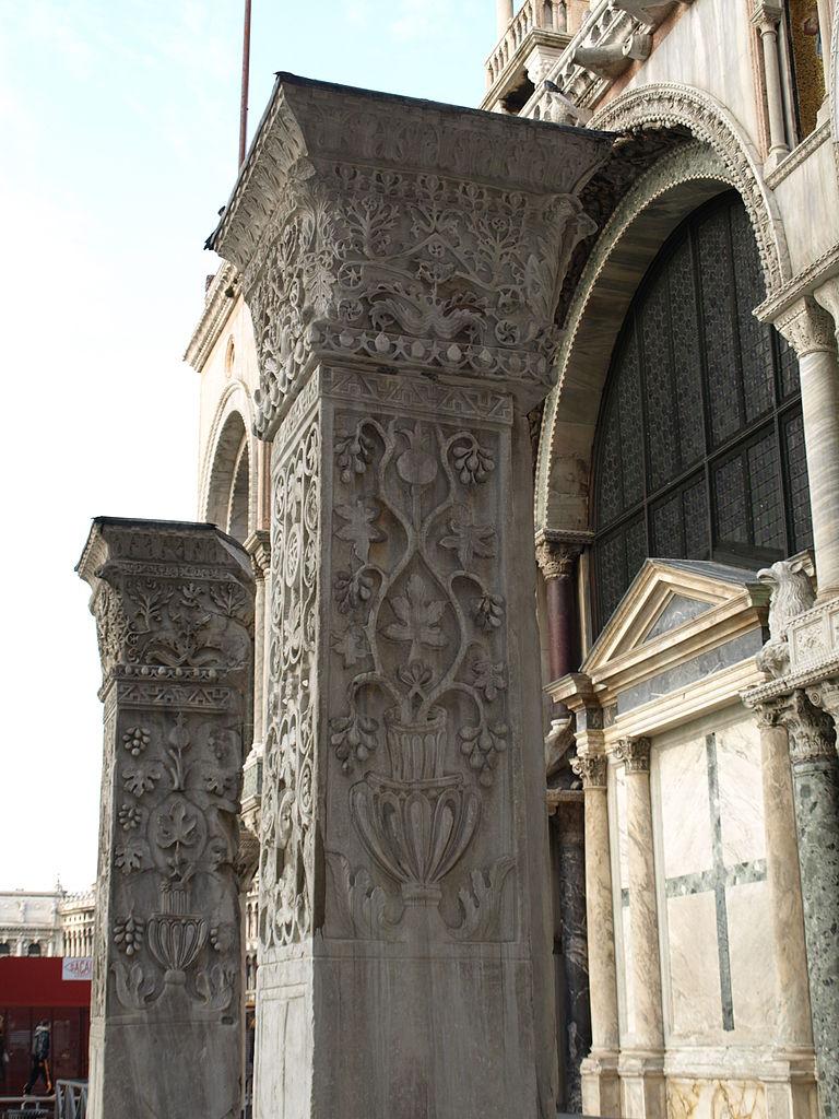 Basilique Saint Marc de Venise - Pilastri Acritani