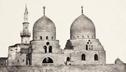 Maxime Du Camp - Le Caire - Tombe du sultan el-Ghoury