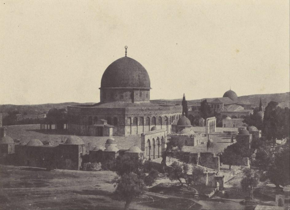 Maxime Du Camp - Palestine. Jérusalem. Mosquée d'Omar