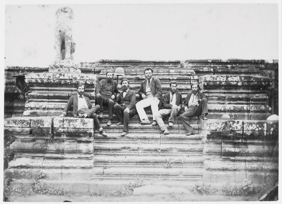 Membres de la Mission d'exploration du Mékong