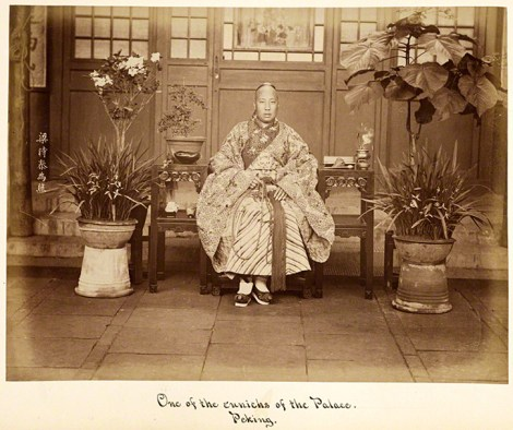 Eunuque du palais de Beijing - Liang Shitai