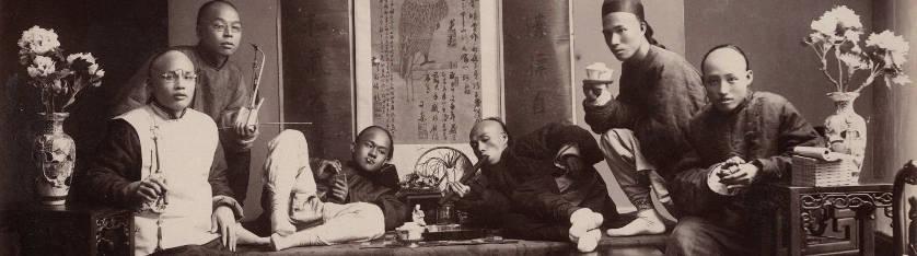 Fumeurs d'opium en 1880
