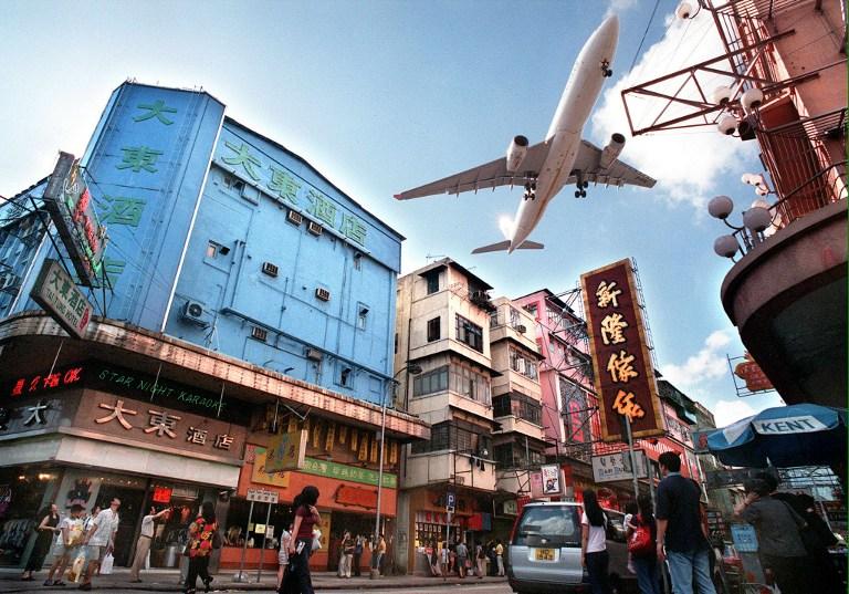 Fantasmes de Kai Tak, l'ancien aéroport de Hong Kong