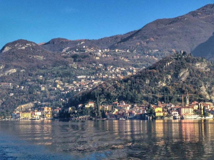 Bellagio from Lake Como, Italy