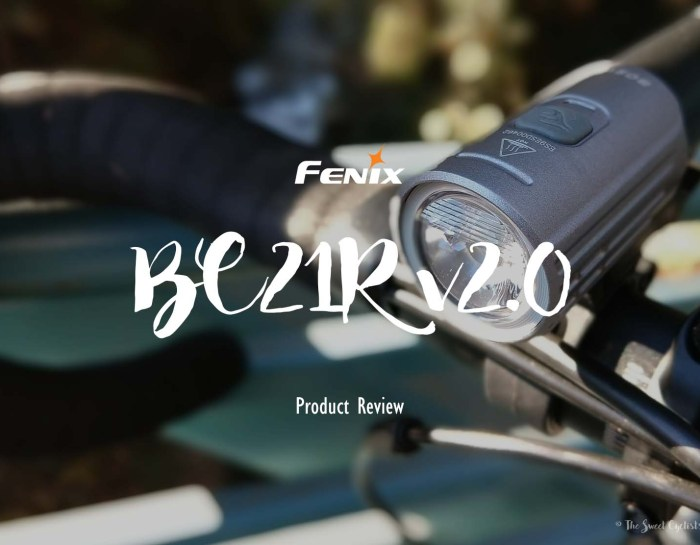 Fenix introduces an updated version of their popular BC21R bicycle light