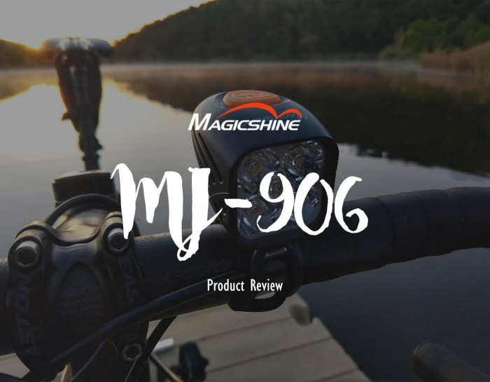 Magicshine  MJ-906, a compact bicycle light