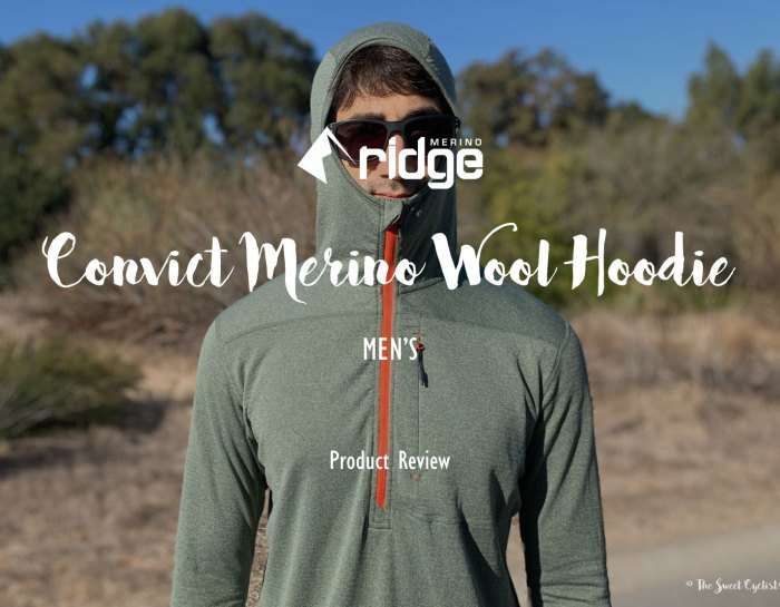 The Ridge Merino Convict – Our favorite all time hoodie