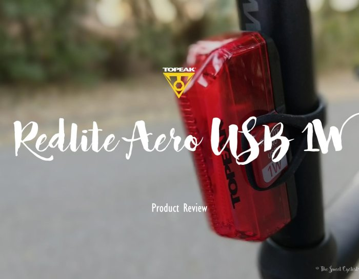 Topeak Redlite Aero USB, a tail light with flexible mounting options
