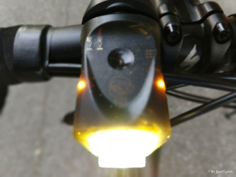 Vya Pro Smart Headlight - transparent body and sidelights