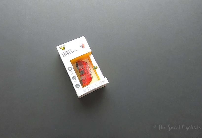 Topeak Redlite Aero - What's in the box