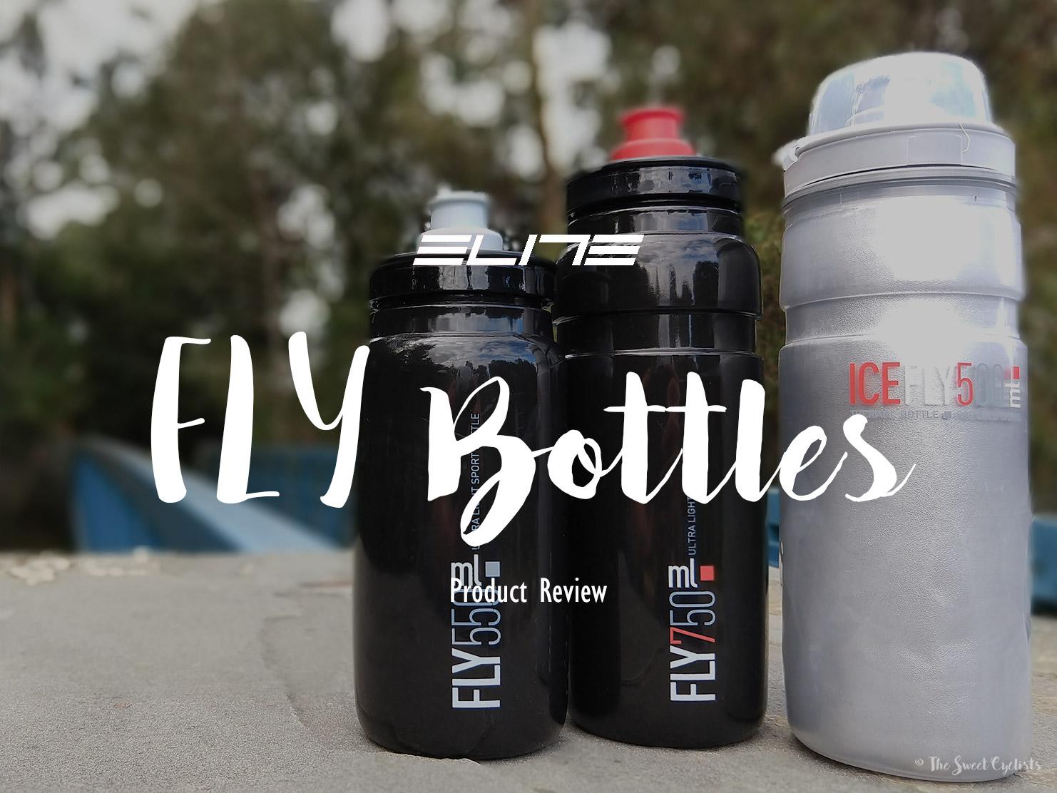 Elite water bottles, the lightest bottles on the market