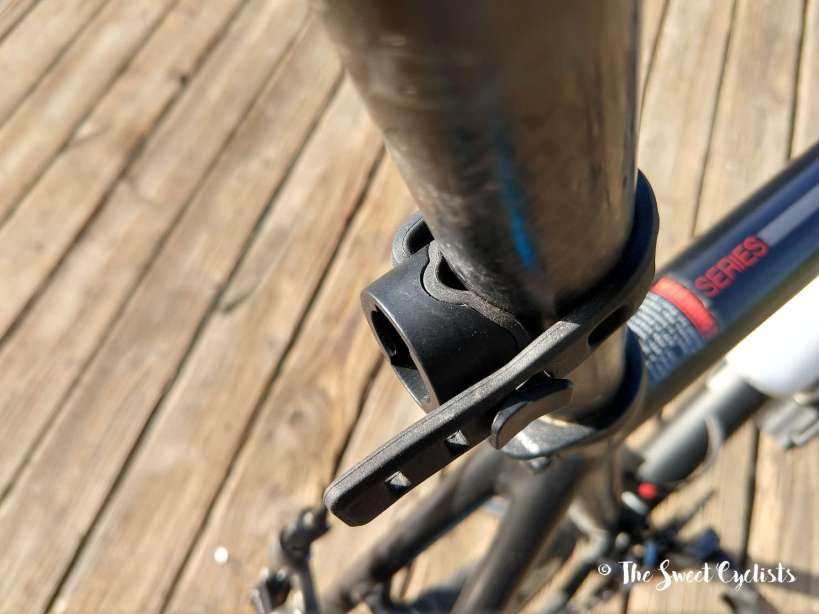 Magicshine Seemee 180 - seatpost mount