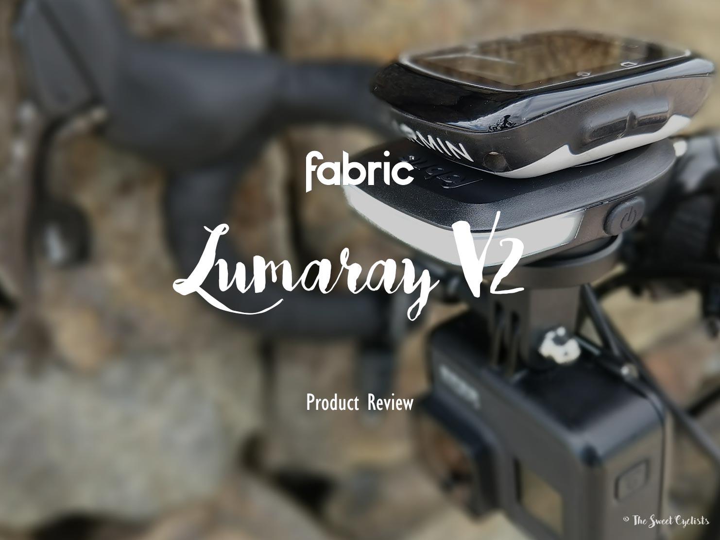 Fabric Lumaray, a clever daytime bike light