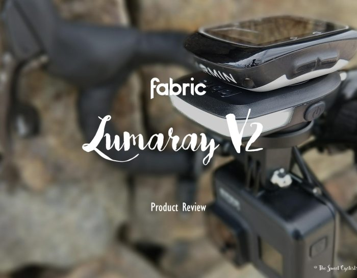 Fabric Lumaray, a minimalist  bike light