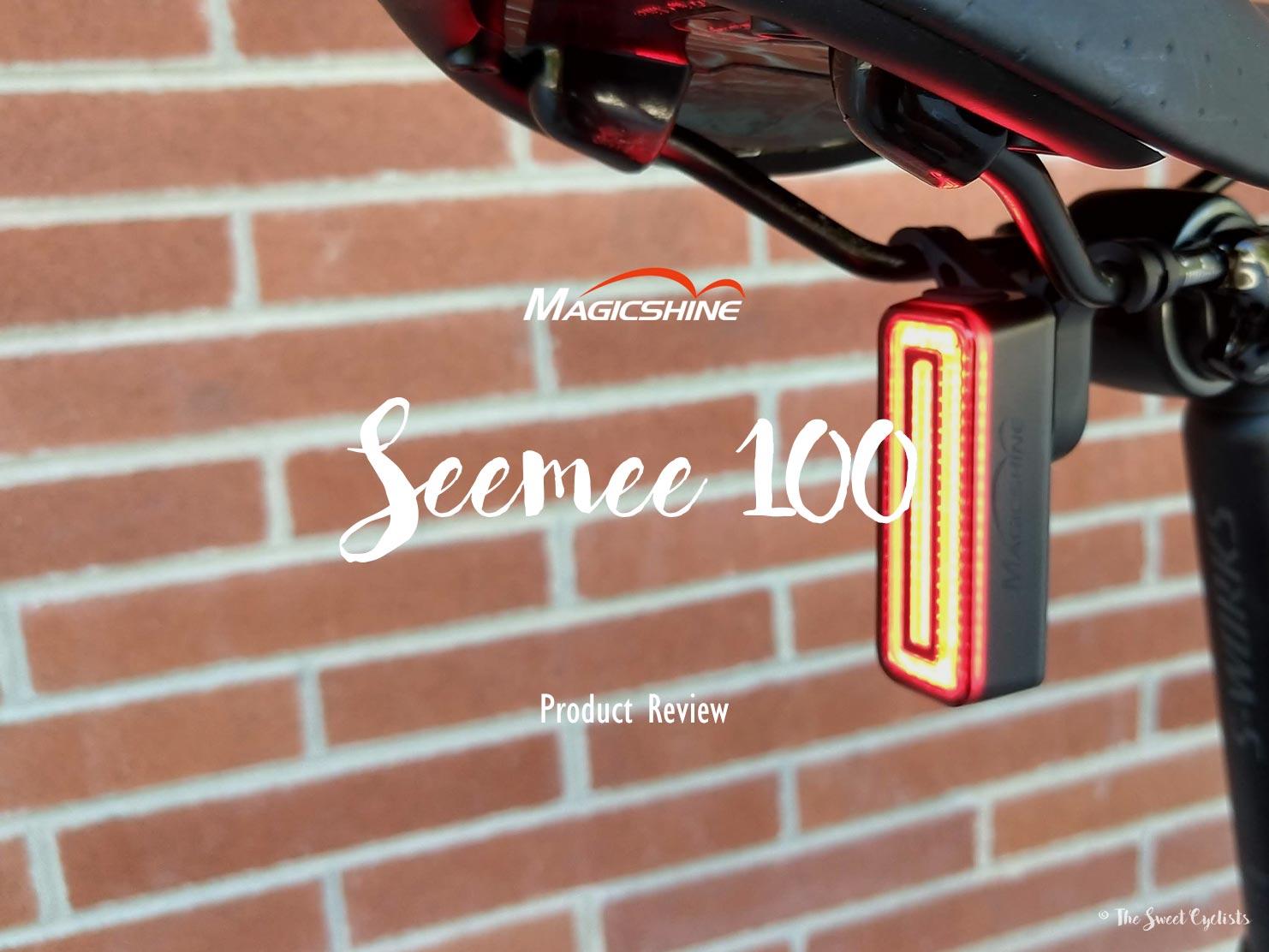 Magicshine Seemee 100, an affordable smart tail light