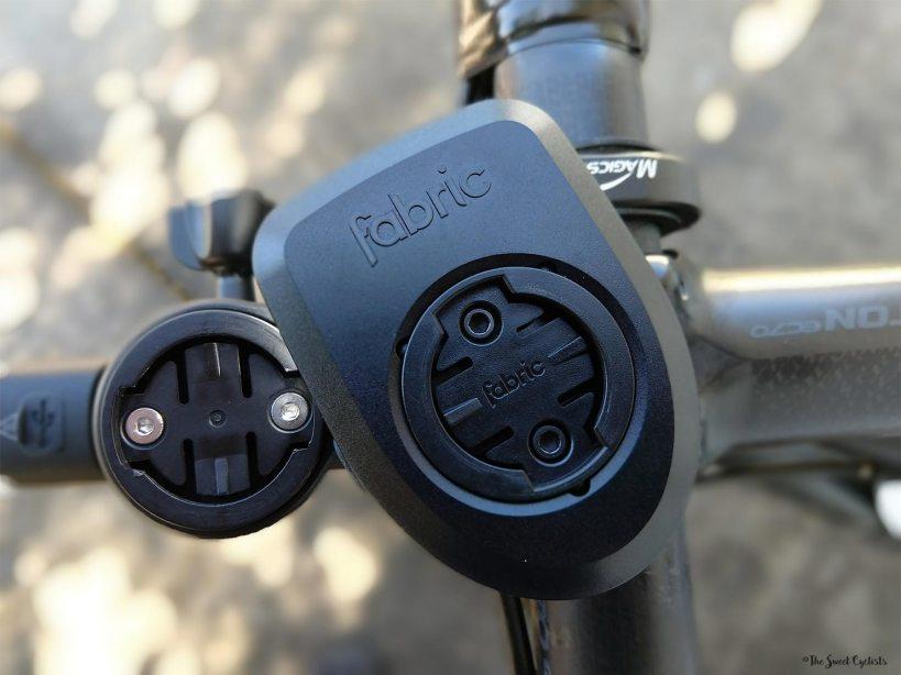 Fabric Lumaray V2 - Swap-able Garmin adapter on the top