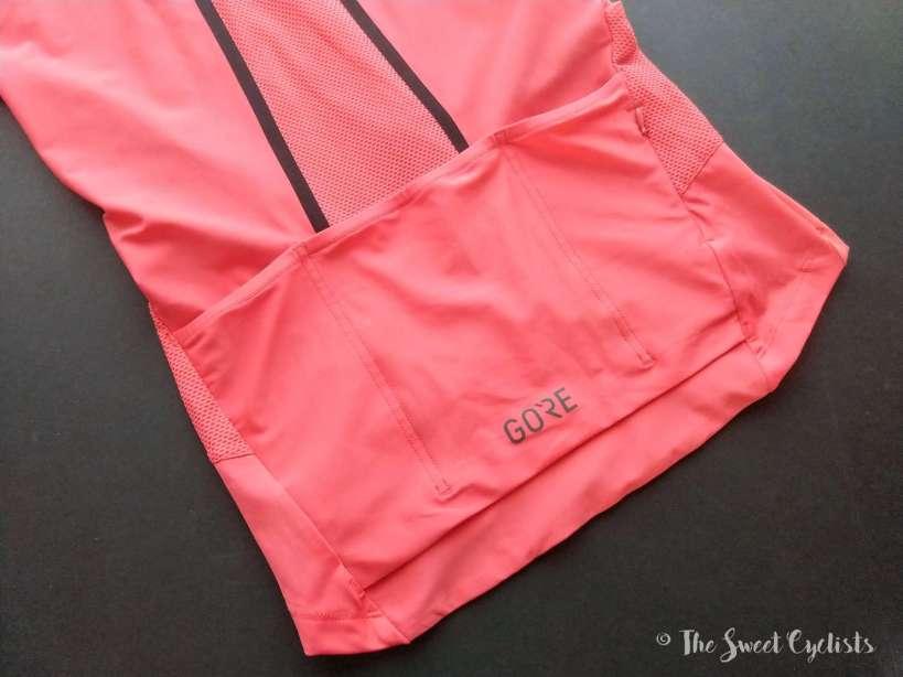 Gore C7 Women Pro Jersey - pockets