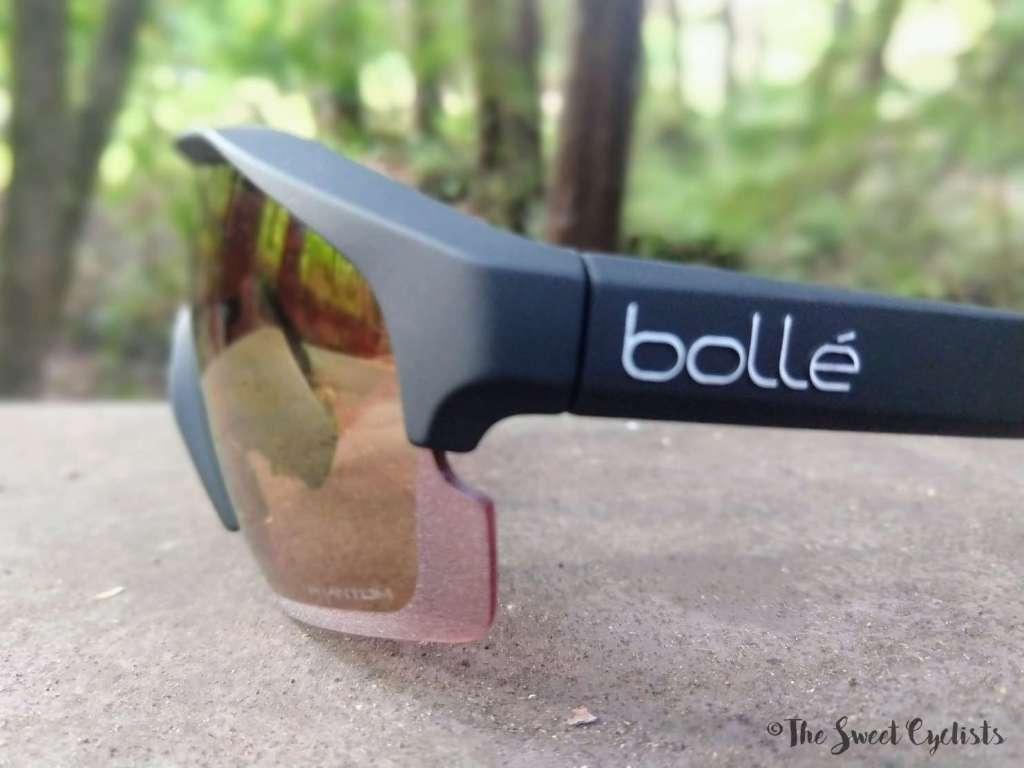 Bollé Lightershifter sunglasses - lazer etching