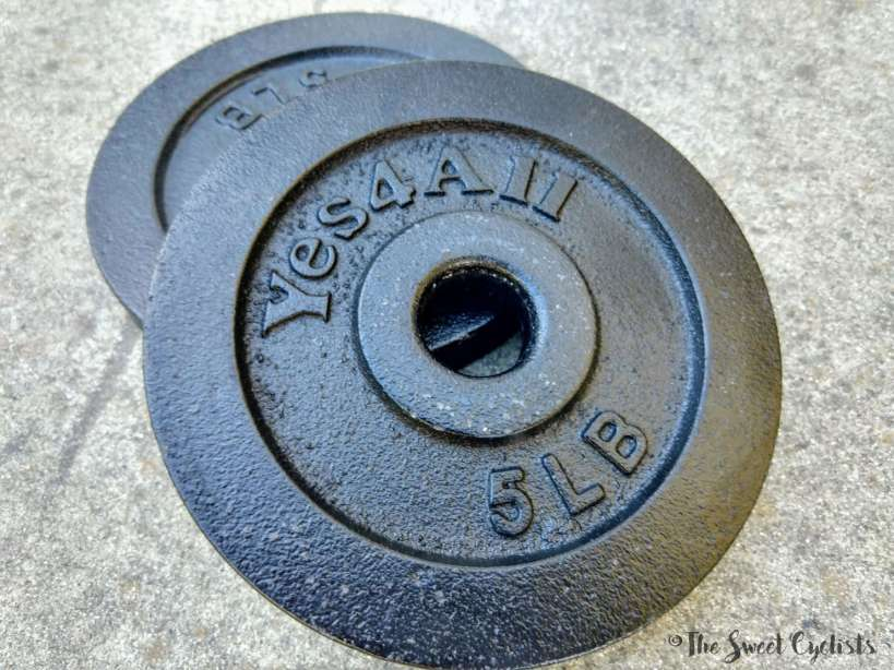Yes4All Adjustable Dumbbells - coating