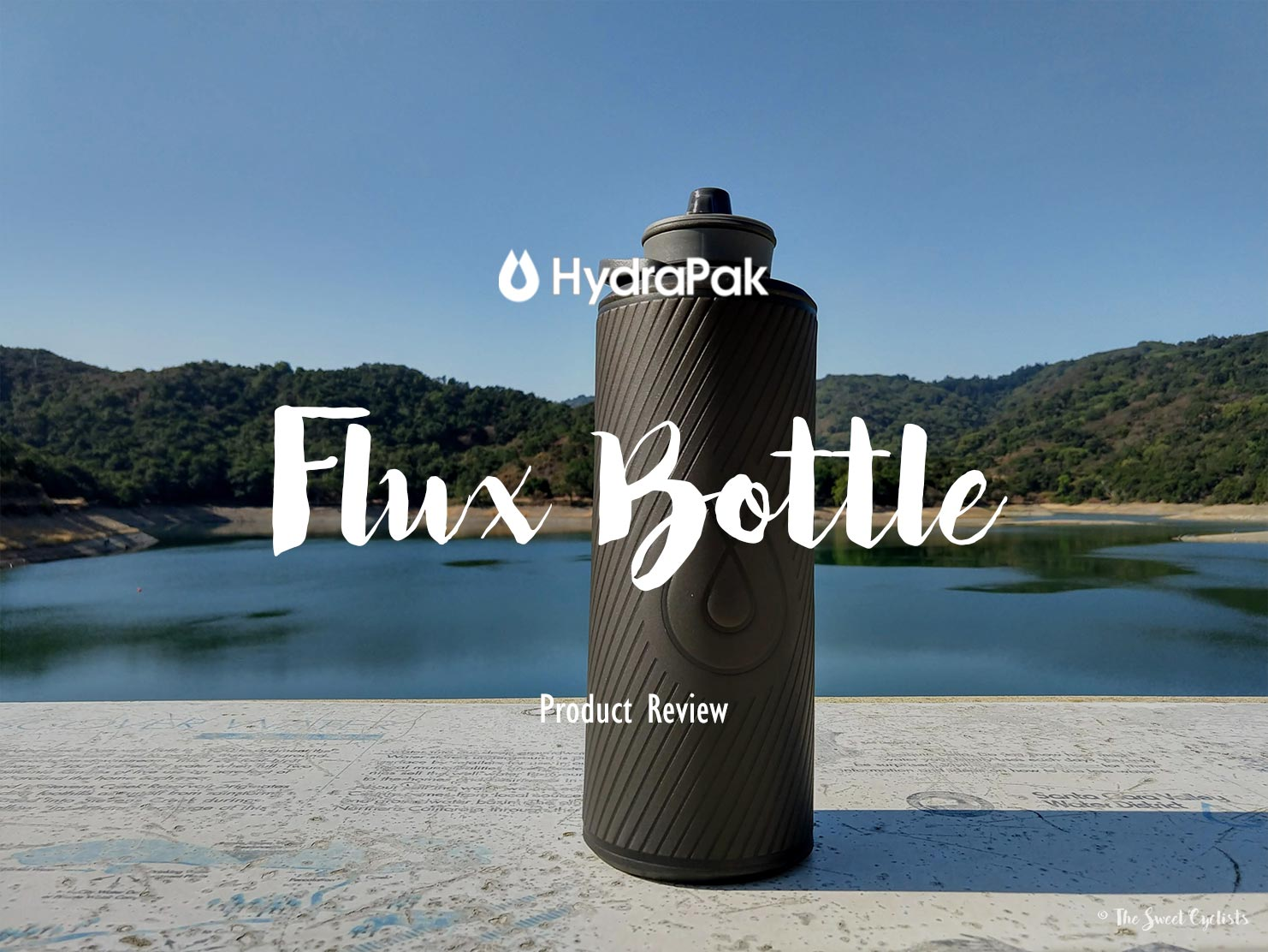 A water bottle that rolls up